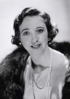 Rosita Forbes, by Howard Coster, 1934 - NPG x16614 - © National Portrait Gallery, London