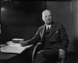 Sir Giles Gilbert Scott, by Howard Coster - NPG x16663