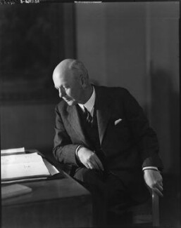 Sir Giles Gilbert Scott, by Howard Coster - NPG x16665