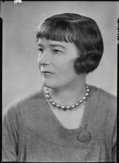 Sheila Kaye-Smith, by Howard Coster - NPG x19511