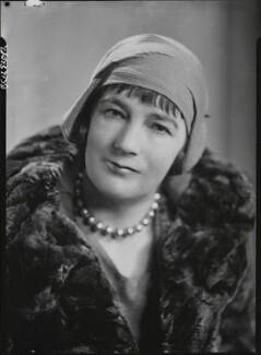 Sheila Kaye-Smith, by Howard Coster - NPG x19512