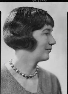 Sheila Kaye-Smith, by Howard Coster - NPG x19514