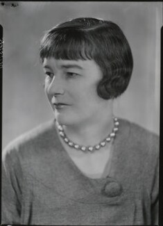 Sheila Kaye-Smith, by Howard Coster - NPG x19515