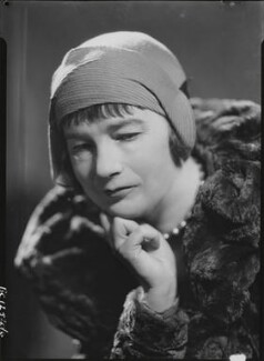 Sheila Kaye-Smith, by Howard Coster - NPG x19516