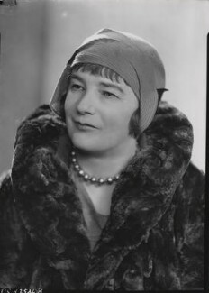 Sheila Kaye-Smith, by Howard Coster - NPG x19518