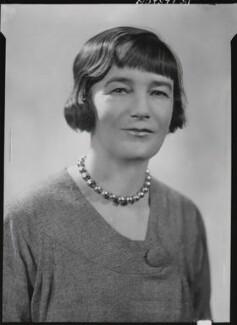 Sheila Kaye-Smith, by Howard Coster - NPG x19519