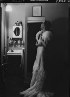 Gertrude Lawrence, by Howard Coster - NPG x19520