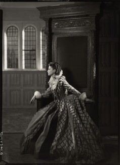 Vivien Leigh as Cynthia in 'Fire Over England', by Howard Coster - NPG x19531
