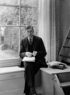 Herbert Read, by Howard Coster - NPG x19536