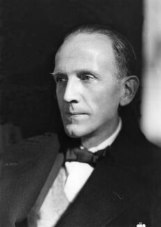 A.A. Milne, by Howard Coster - NPG x19564