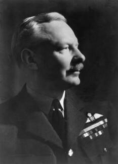 Sir Arthur Travers ('Bomber') Harris, 1st Bt, by Howard Coster - NPG x20889
