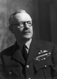 Sir Arthur Travers ('Bomber') Harris, 1st Bt, by Howard Coster - NPG x20890