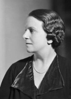 Dame Caroline Harriet Haslett, by Howard Coster - NPG x20906