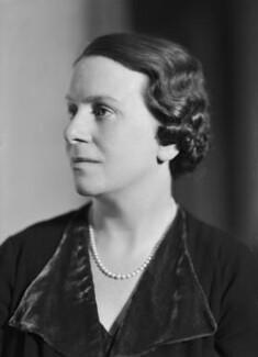 Dame Caroline Harriet Haslett, by Howard Coster - NPG x20908