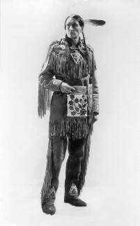 Archibald Stansfield ('Grey Owl') Belaney, by Howard Coster - NPG x22745