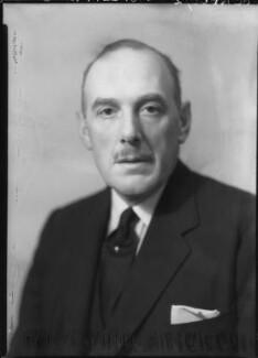 Oliver Lyttelton, 1st Viscount Chandos, by Howard Coster - NPG x23574