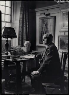 Sir Edward Howard Marsh, by Howard Coster, 1939 - NPG x23651 - © National Portrait Gallery, London