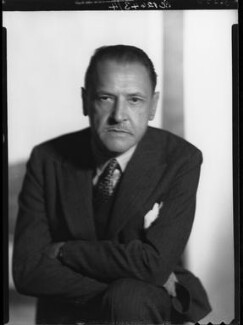 Somerset Maugham, by Howard Coster - NPG x23663