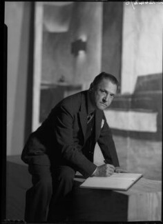 Somerset Maugham, by Howard Coster - NPG x23664