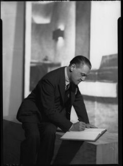 Somerset Maugham, by Howard Coster - NPG x23668