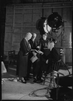 Harry Bruce Woolfe; Winifred Clara Cullis; Mary Field and Sir Edward James Salisbury, by Howard Coster - NPG x23985