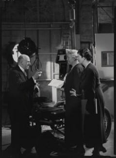 Winifred Clara Cullis; Sir Edward James Salisbury; Mary Field, by Howard Coster - NPG x23987