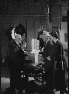 Winifred Clara Cullis; Sir Edward James Salisbury; Mary Field, by Howard Coster - NPG x23989