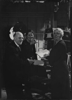 Winifred Clara Cullis; Sir Edward James Salisbury; Mary Field, by Howard Coster - NPG x23991