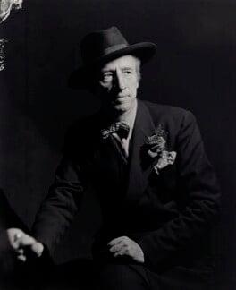 Sir (Bertram) Clough Williams-Ellis, by Howard Coster, 1936 - NPG x24202 - © National Portrait Gallery, London