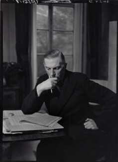 Roger Quilter, by Howard Coster, 1936 - NPG x24205 - © National Portrait Gallery, London
