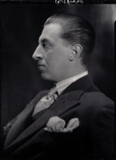 Sir Osbert Sitwell, by Howard Coster, 1934 - NPG x24212 - © National Portrait Gallery, London