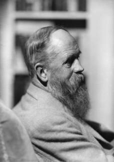 Charles Freer Andrews, by Howard Coster, 1935 - NPG x2448 - © National Portrait Gallery, London