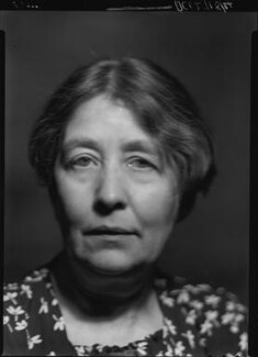 Sylvia Pankhurst, by Howard Coster, 1938 - NPG x24530 - © National Portrait Gallery, London