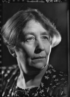 Sylvia Pankhurst, by Howard Coster, 1938 - NPG x24531 - © National Portrait Gallery, London