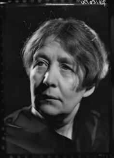 Sylvia Pankhurst, by Howard Coster, 1938 - NPG x24532 - © National Portrait Gallery, London