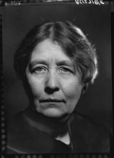Sylvia Pankhurst, by Howard Coster, 1938 - NPG x24533 - © National Portrait Gallery, London