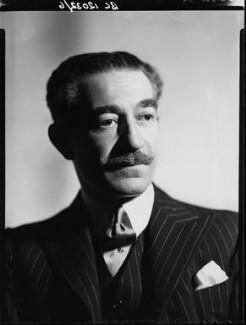 Michael Arlen, by Howard Coster, 1935 - NPG x2468 - © National Portrait Gallery, London