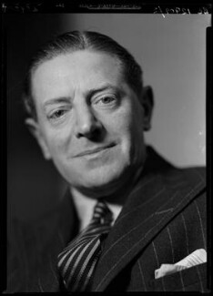 Ben Travers, by Howard Coster, 1936 - NPG x24866 - © National Portrait Gallery, London
