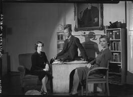 (Rudolph) John Frederick Lehmann; Beatrix Lehmann; Rosamond Nina Lehmann, by Howard Coster - NPG x24887