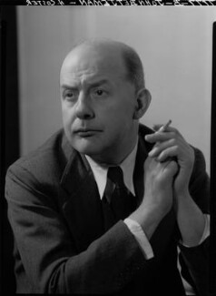 Sir John Betjeman, by Howard Coster, 1953 - NPG x25956 - © National Portrait Gallery, London