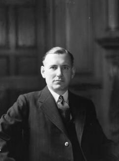Harold Harington Balfour, 1st Baron Balfour of Inchrye, by Howard Coster - NPG x2881