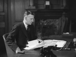Harold Harington Balfour, 1st Baron Balfour of Inchrye, by Howard Coster - NPG x2882