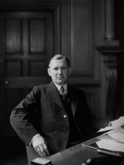 Harold Harington Balfour, 1st Baron Balfour of Inchrye, by Howard Coster - NPG x2886