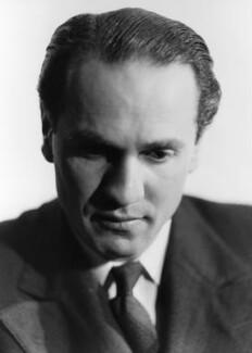 Sidney Lewis Bernstein, 1st Baron Bernstein of Leigh, by Howard Coster - NPG x2912