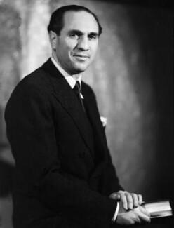 Sidney Lewis Bernstein, 1st Baron Bernstein of Leigh, by Howard Coster - NPG x2913