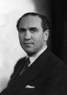Sidney Lewis Bernstein, 1st Baron Bernstein of Leigh, by Howard Coster - NPG x2915