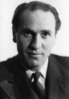 Sidney Lewis Bernstein, 1st Baron Bernstein of Leigh, by Howard Coster - NPG x2919