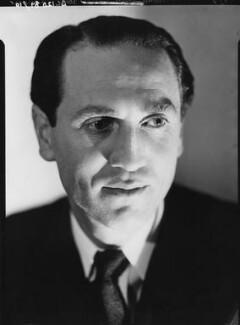 Sidney Lewis Bernstein, 1st Baron Bernstein of Leigh, by Howard Coster - NPG x2920