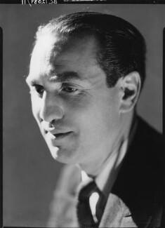 Sidney Lewis Bernstein, 1st Baron Bernstein of Leigh, by Howard Coster - NPG x2921