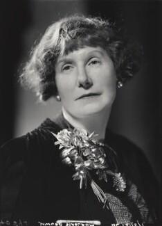 Marjorie Bowen (Mrs Gabrielle Margaret Vere Long), by Howard Coster - NPG x3058